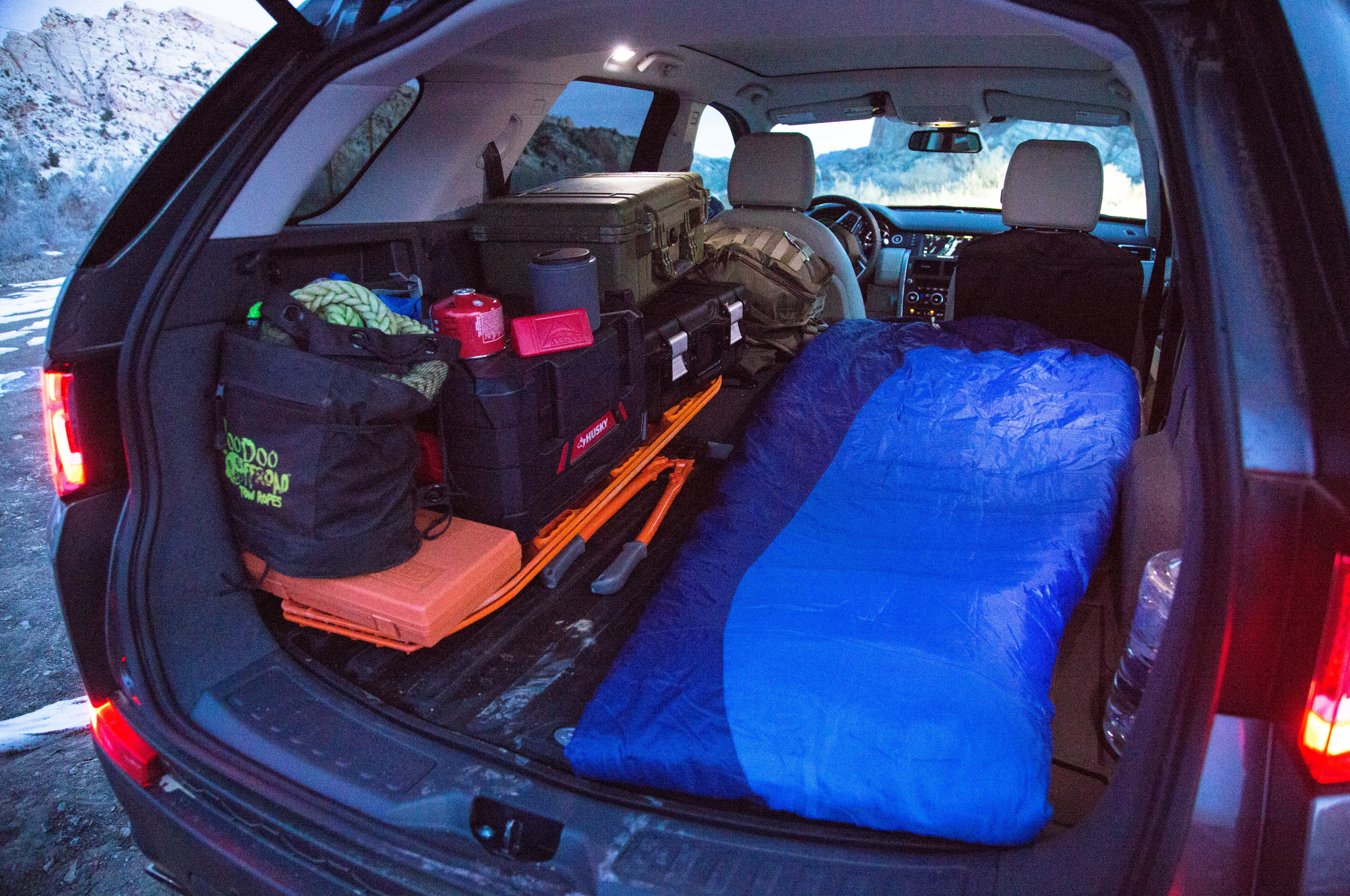 2016 Land Rover Discovery Sport Hse Luxury Camping At The