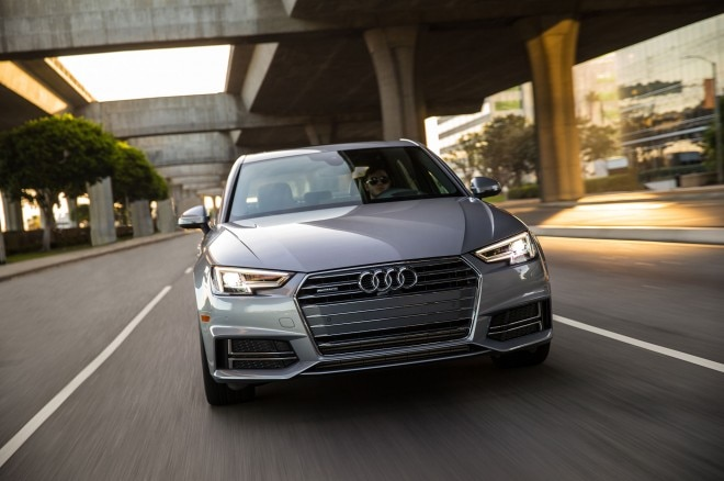2017 Audi A4 20T quattro front view in motion 04