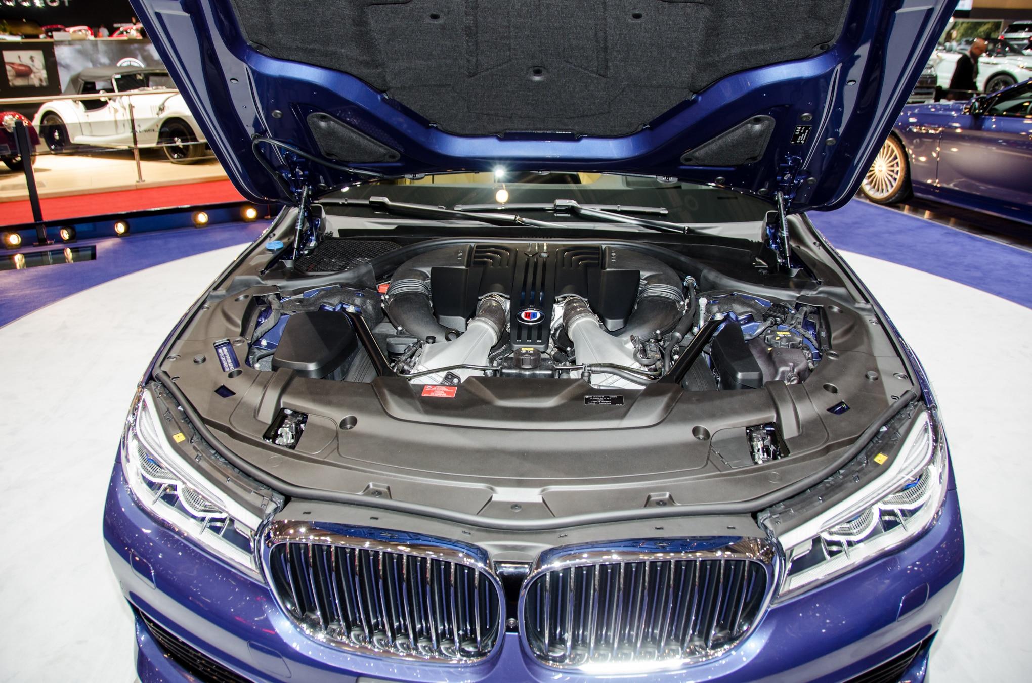 BMW Alpina B XDrive Is A HP MPH Luxury Sedan - Bmw alpina 37