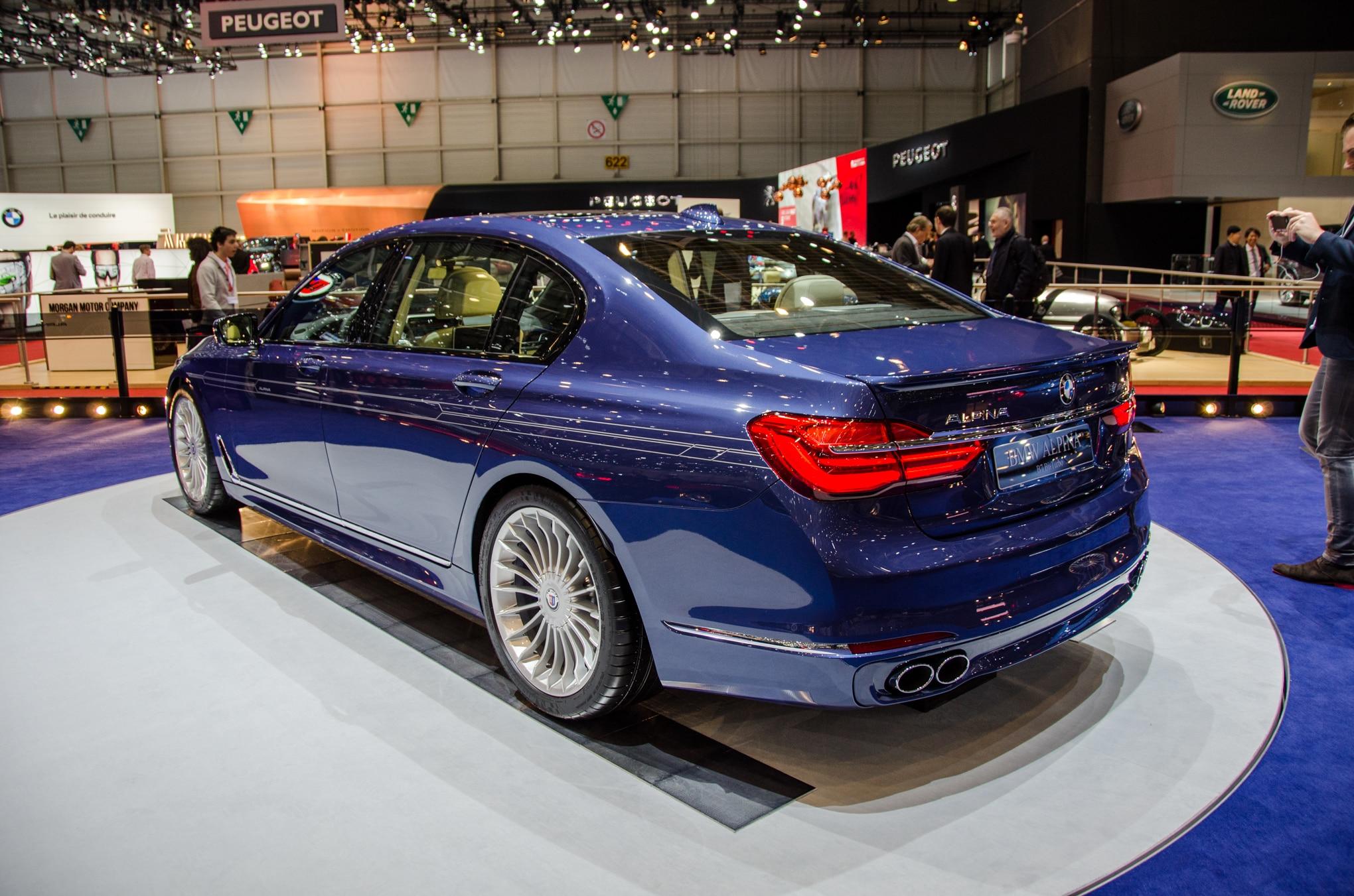 BMW Alpina B XDrive Is A HP MPH Luxury Sedan - 2018 alpina b7