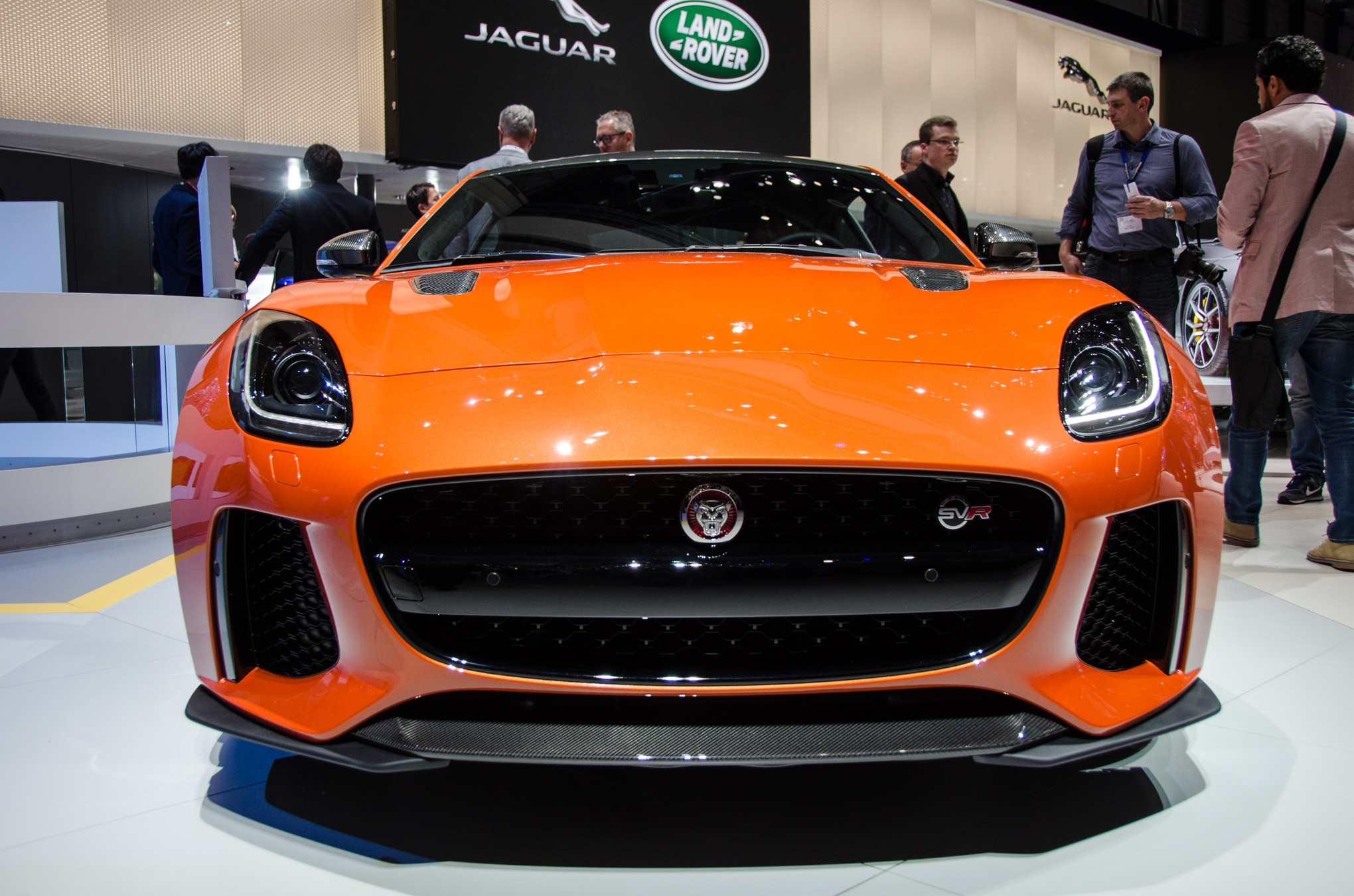 2017 Jaguar F-Type SVR Brings a 575-HP Punch to Geneva ...