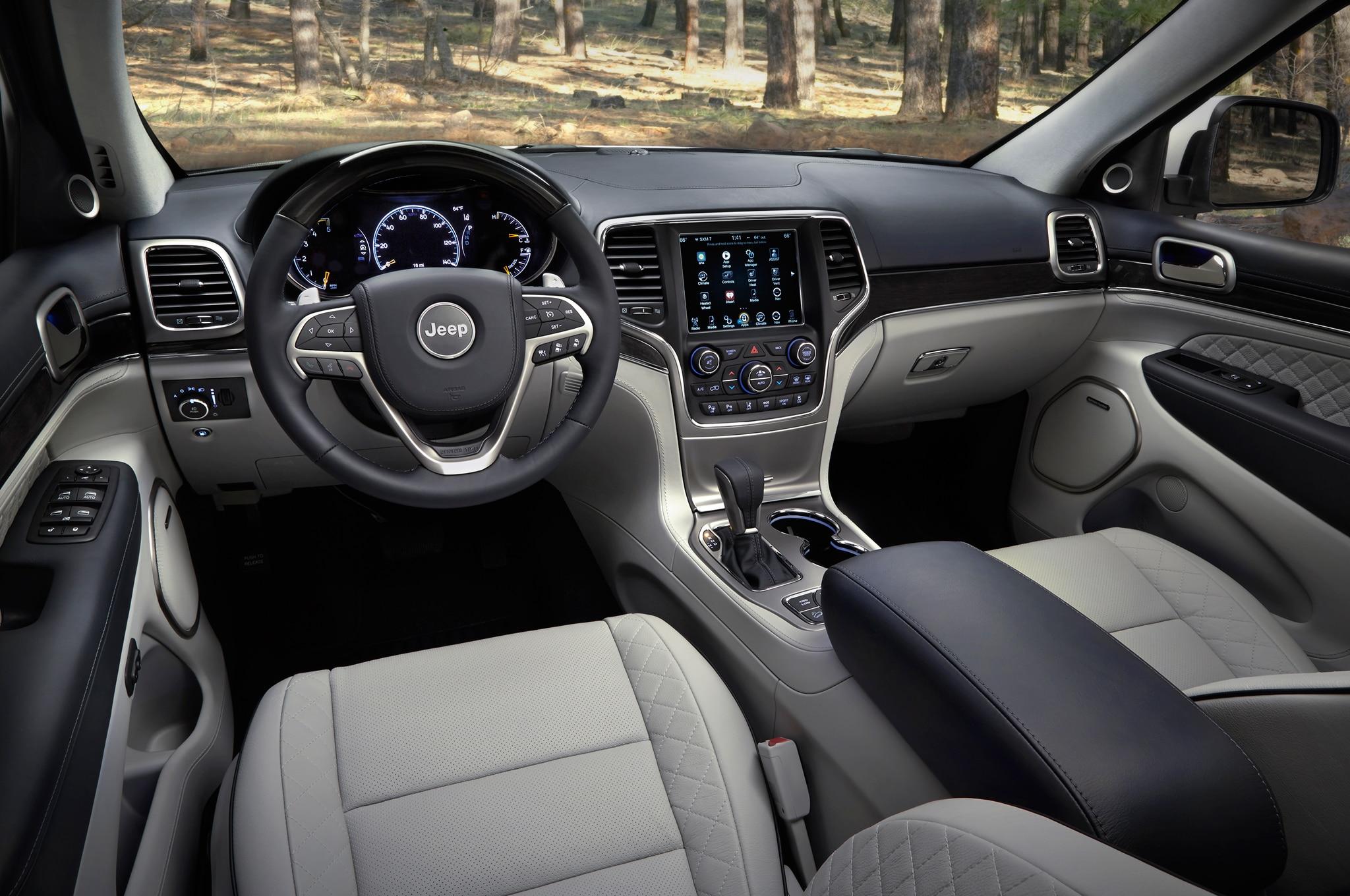 First Drive 2017 Jeep Grand Cherokee Automobile Magazine