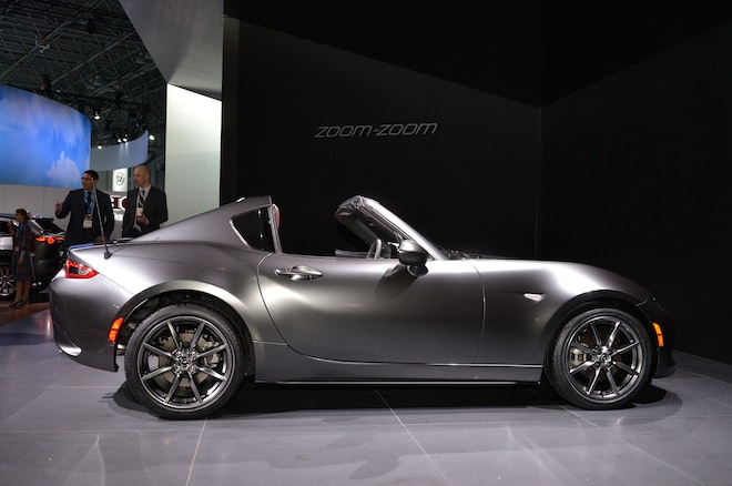 2017 Mazda MX 5 Miata RF Side Profile 02