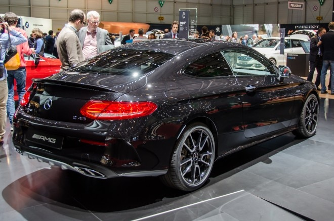 2017 Mercedes-AMG C43 Coupe Joins Sedan with 362-HP V-6