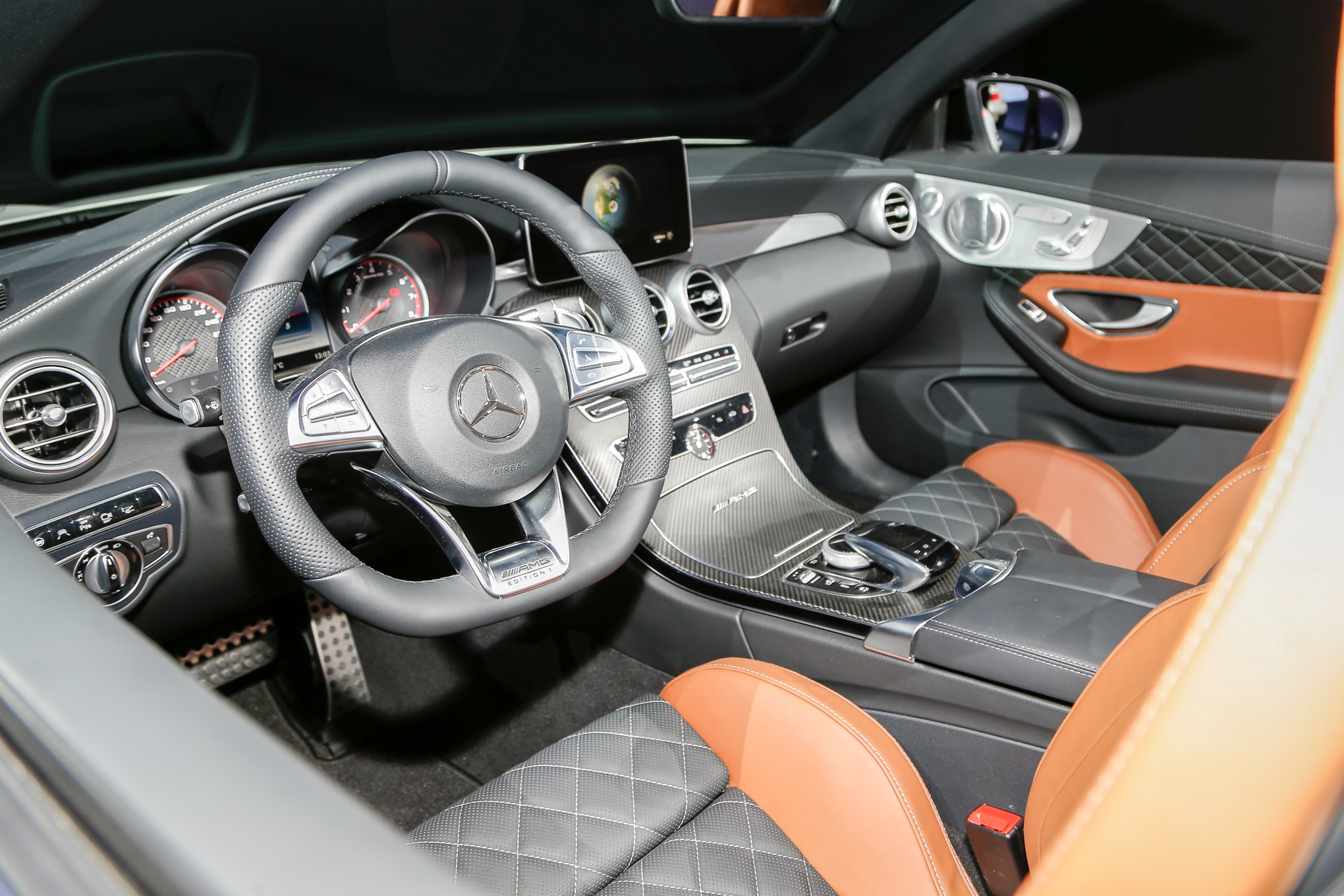 2017 Mercedes AMG C63 Cabriolet Revealed at 2016 New York Auto Show