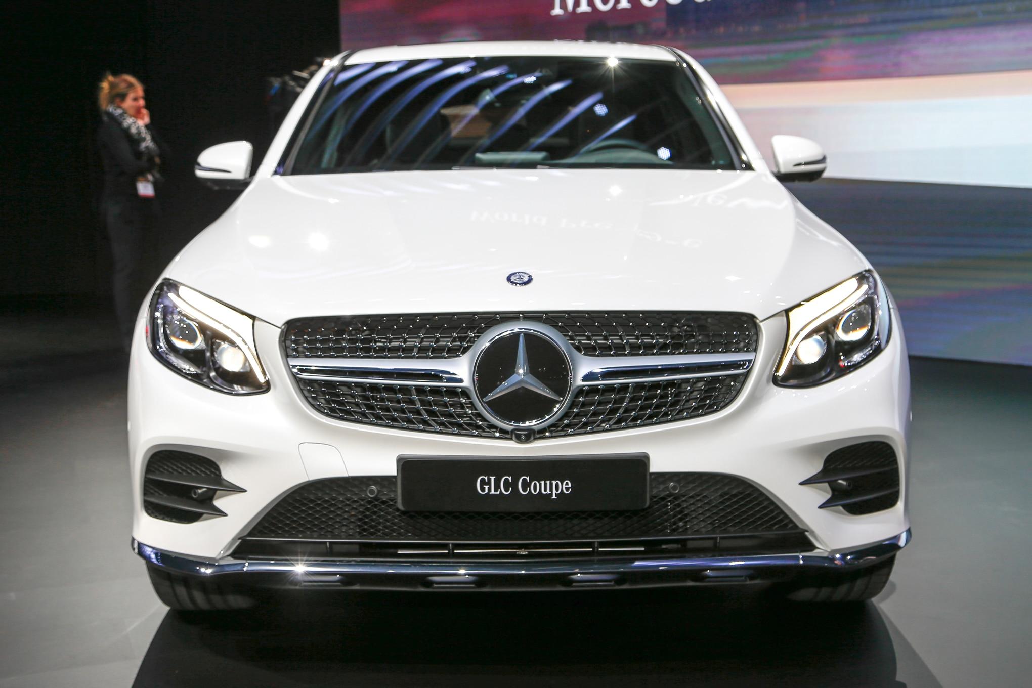 Mercedes 2019 Gle >> 2017 Mercedes-Benz GLC Coupe Debuts in New York | Automobile Magazine