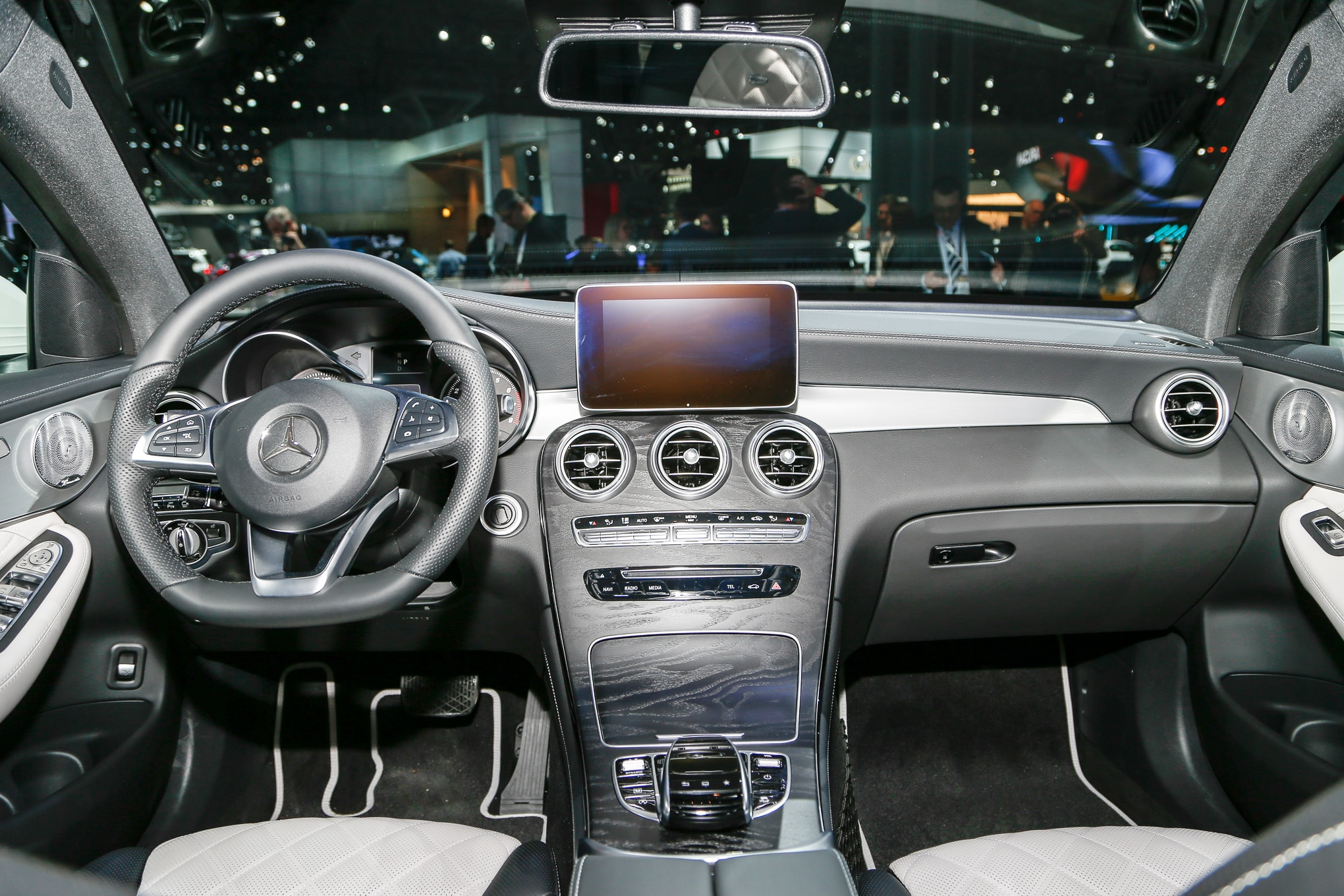2017 Mercedes Benz Glc Coupe Debuts In New York
