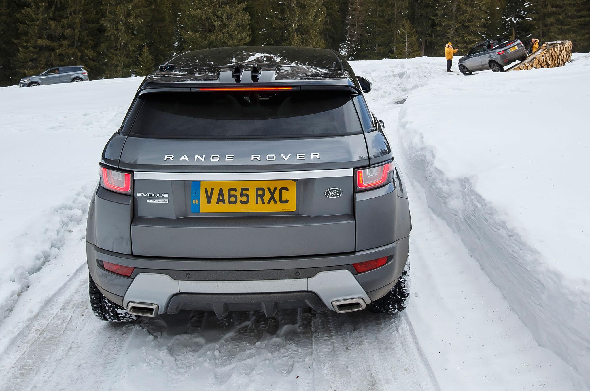 2017 Range Rover Evoque Convertible Review