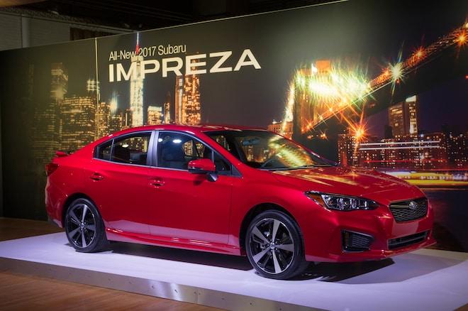 2017 Subaru Impreza Sport Front Three Quarter 02