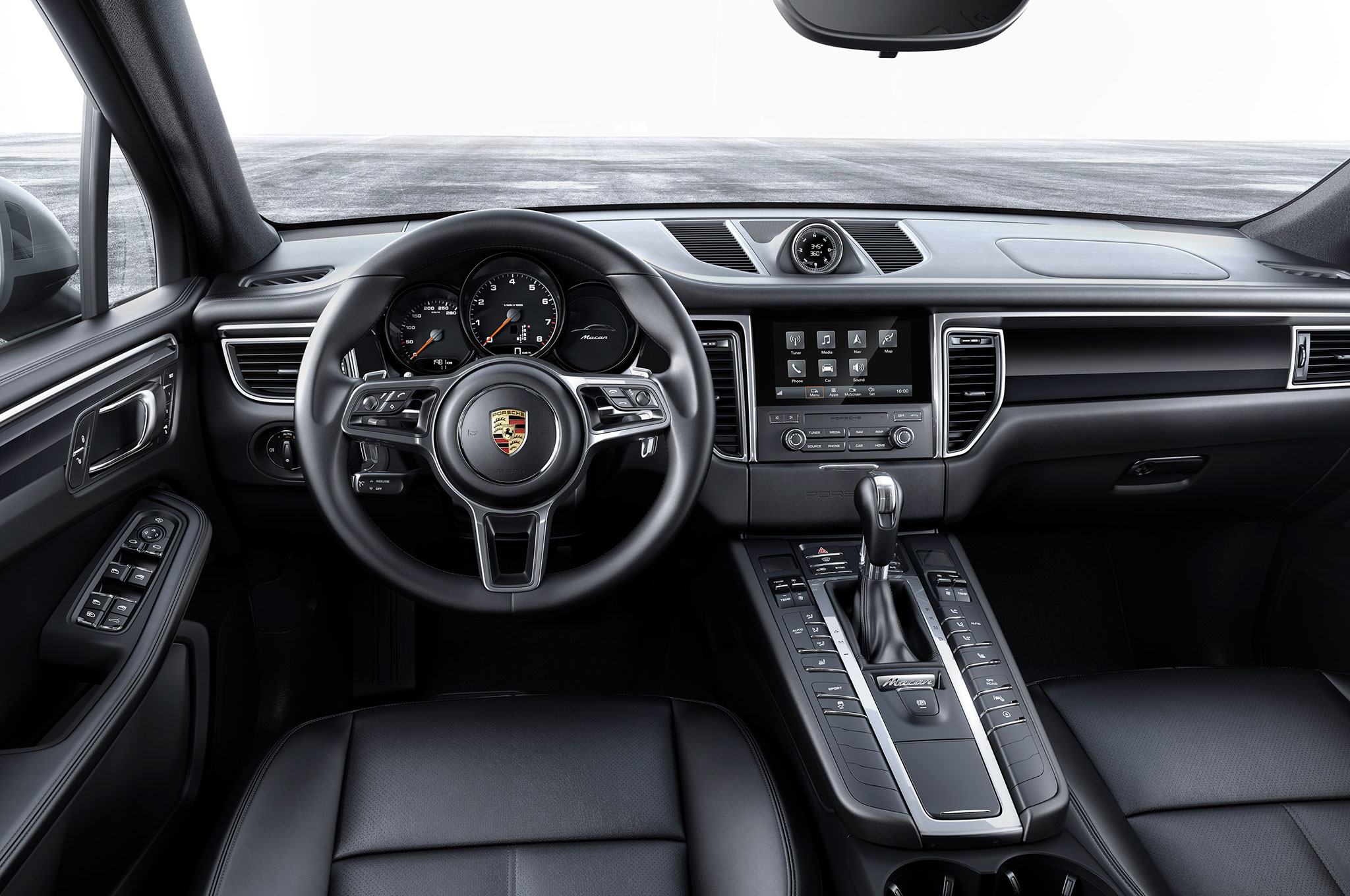 2017 Porsche Macan Adds 252 Hp Turbo Four Base Model Automobile