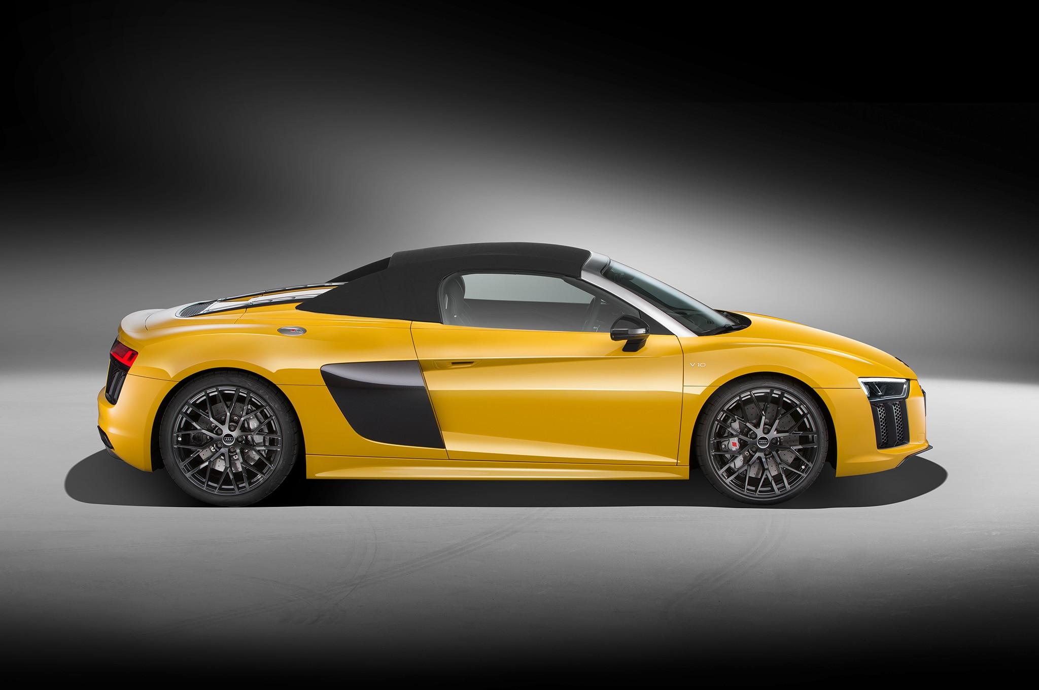 2017 Audi R8 V10 Spyder One Week Review Automobile Magazine