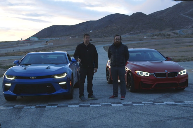 Video 2016 Chevrolet Camaro Ss Vs 2015 Bmw M4