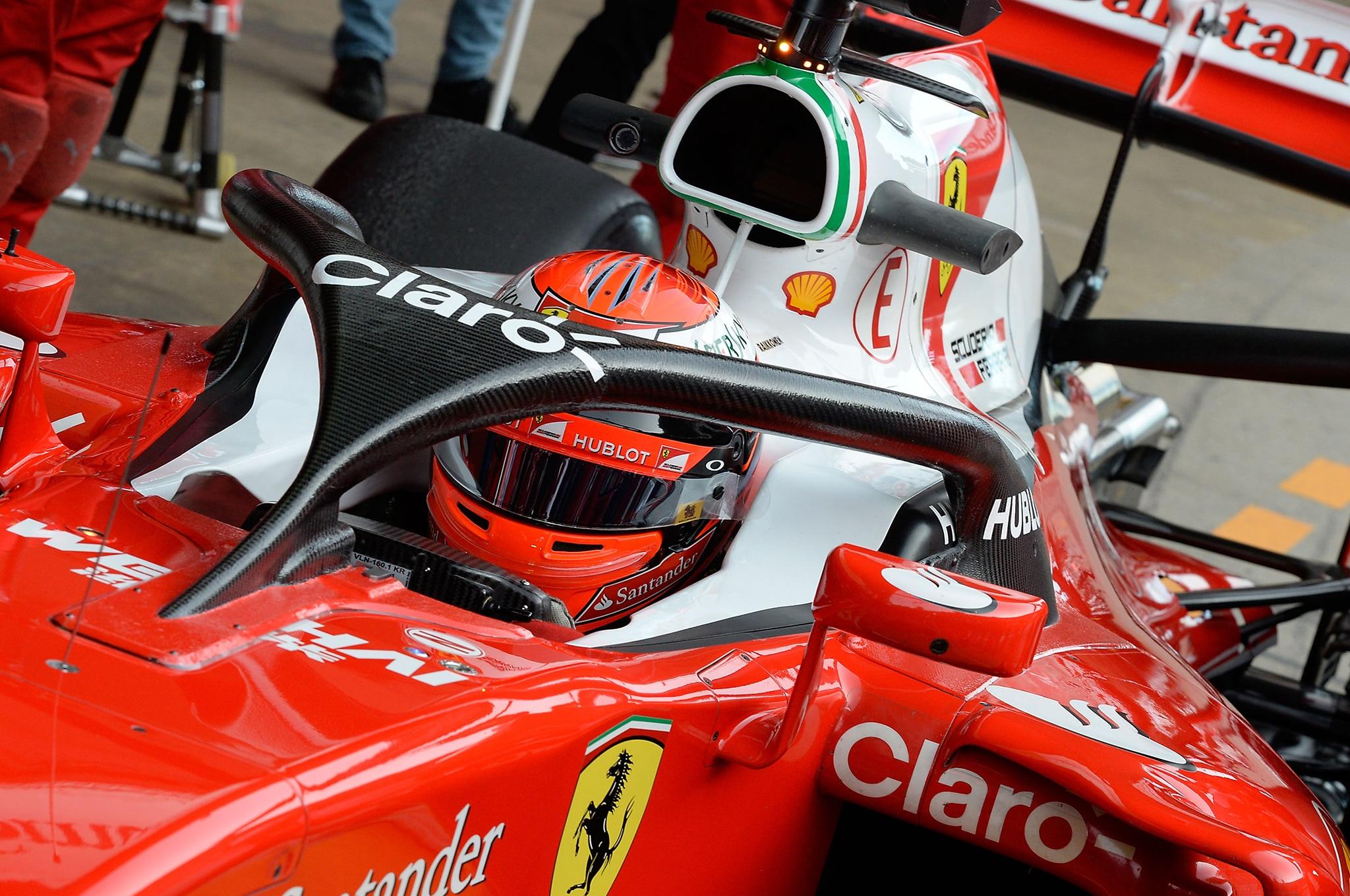 Ferrari Tests First Formula 1 Halo Safety System