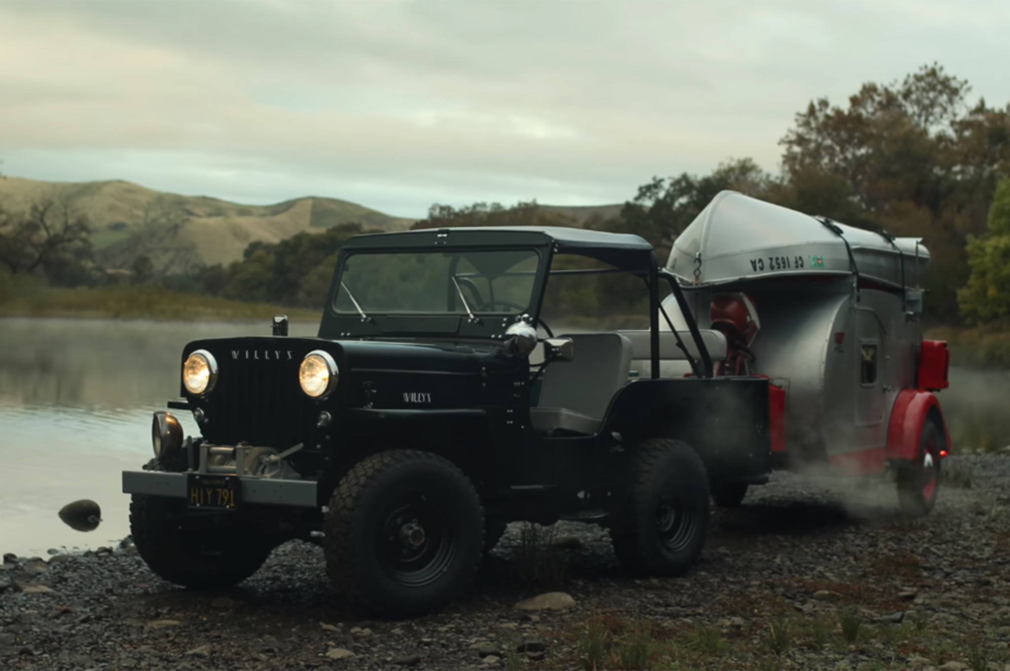 Camping With This 1953 Jeep Cj 3b Is An Escape From The