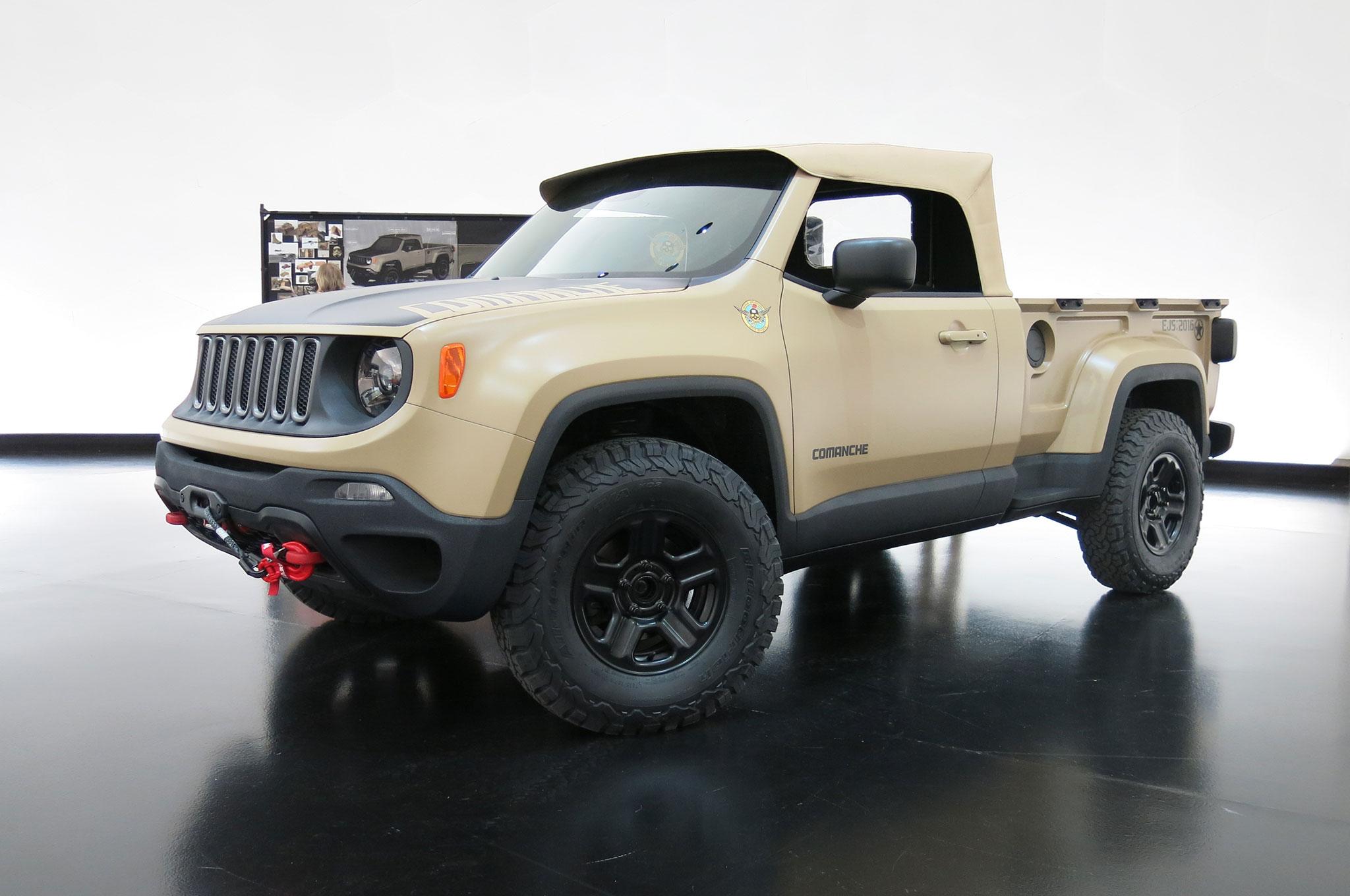 Jeep Trailcat Concept Headlines 2016 Moab Easter Safari Lineup Automobile Magazine