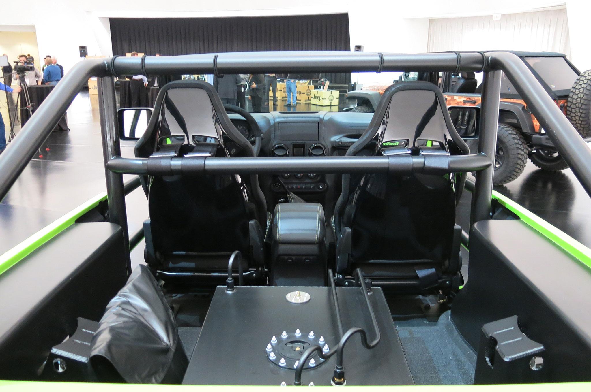 Jeep Trailcat Concept Headlines 2016 Moab Easter Safari