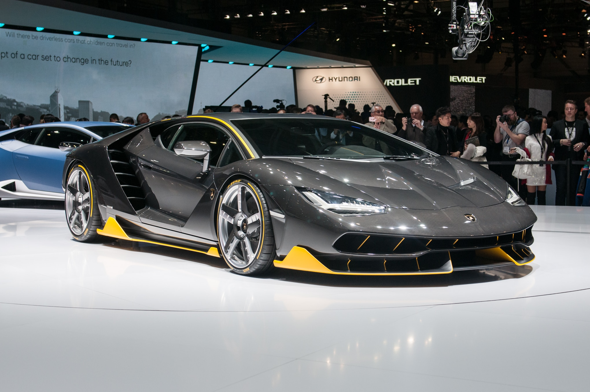 Lamborghini Centenario Celebrates Founder S 100th Birthday
