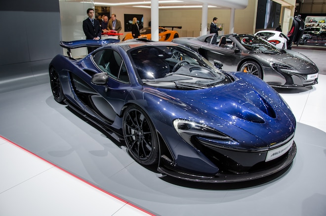 McLaren P1 By MSO Front Three Quarter