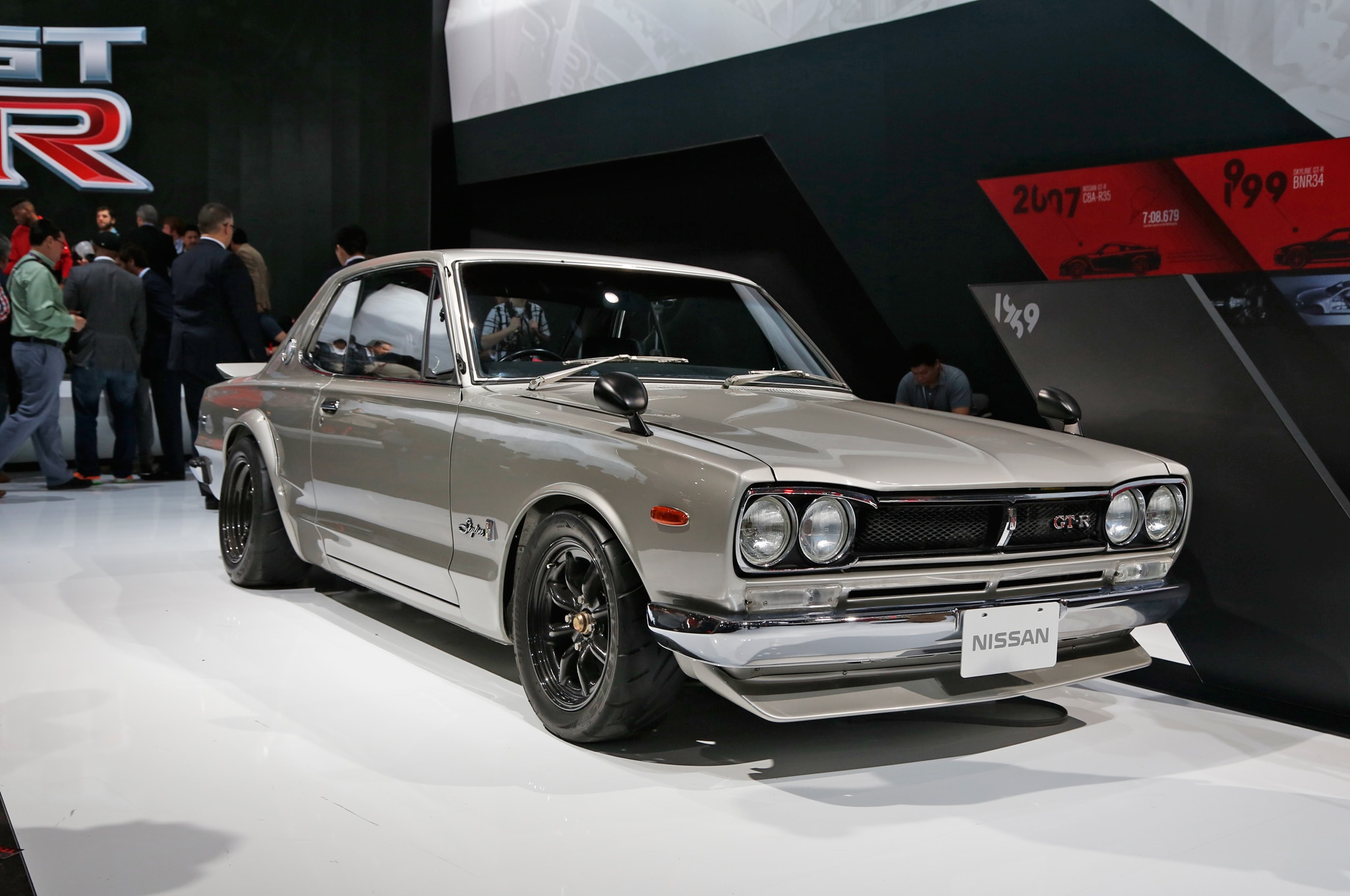 Front Door Color Vintage Nissan Skyline Gt Rs Invade New York Auto Show