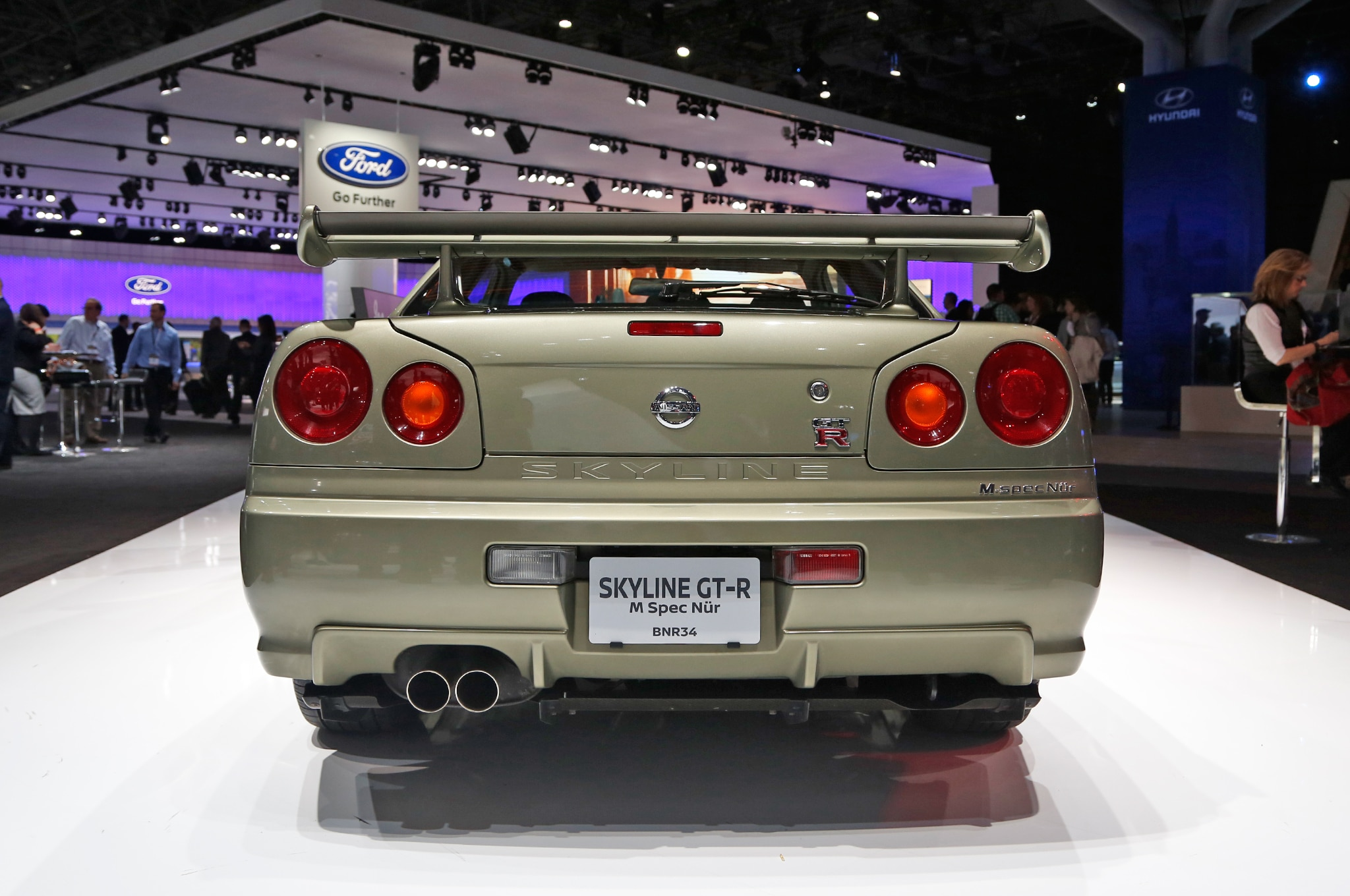 Vintage Nissan Skyline GT-Rs Invade New York Auto Show