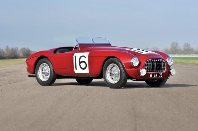 1951 Ferrari 340 America Barchetta front three quarters