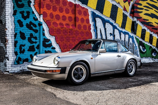 1982 Porsche 911SC Front Three Quarter 01