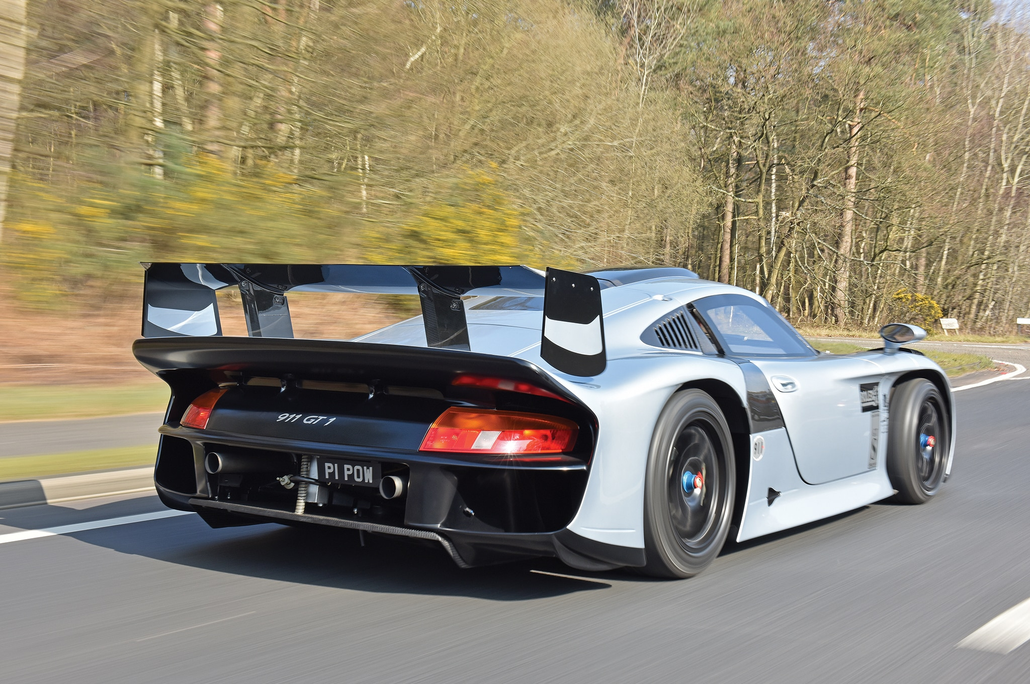 The Only Street-Legal 1997 Porsche 911 GT1 Evo Heads to