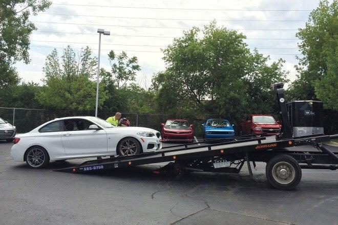 2014 BMW M235i tow service