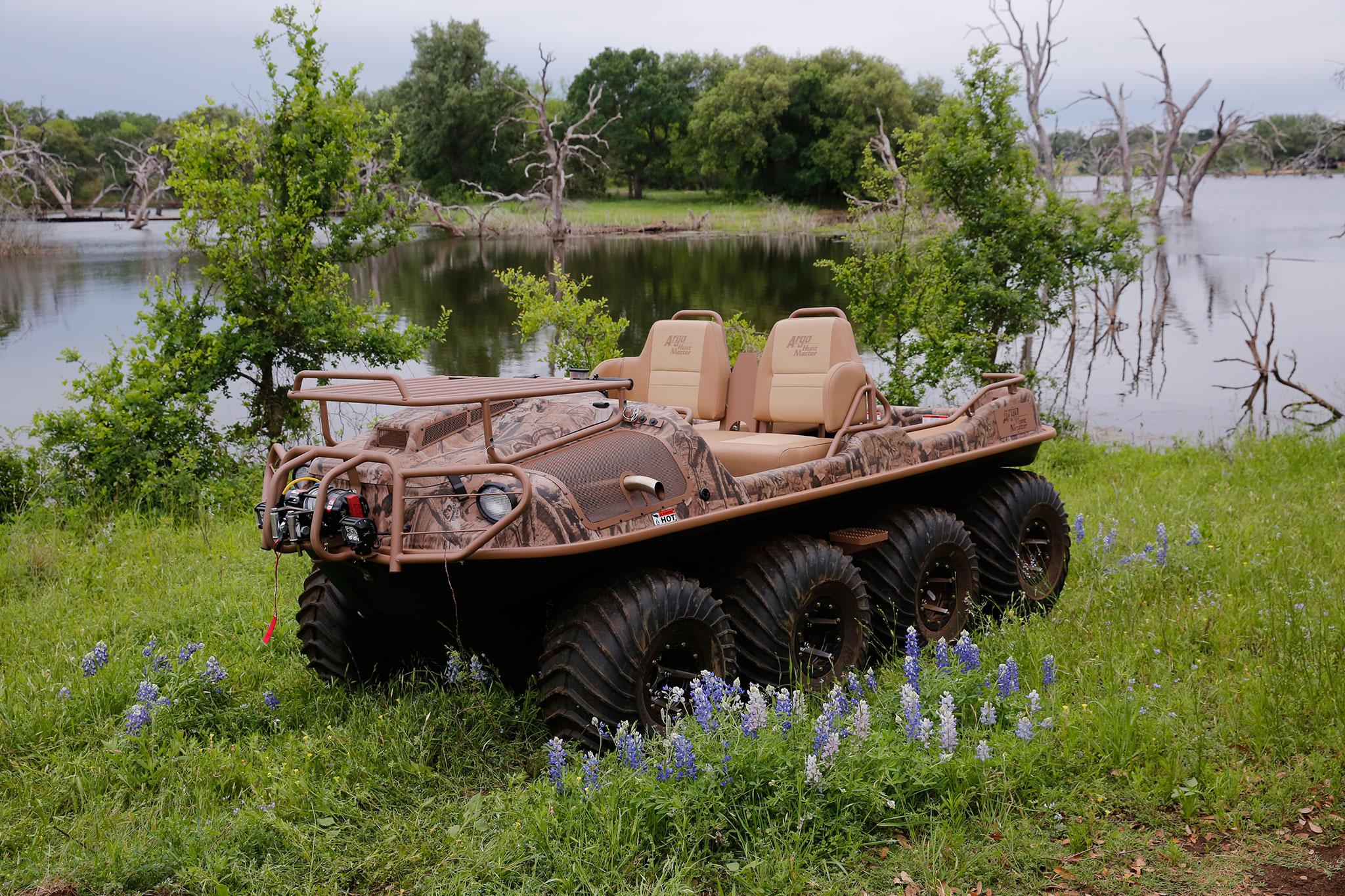 2016 Argo 8x8 Amphibious ATV Review