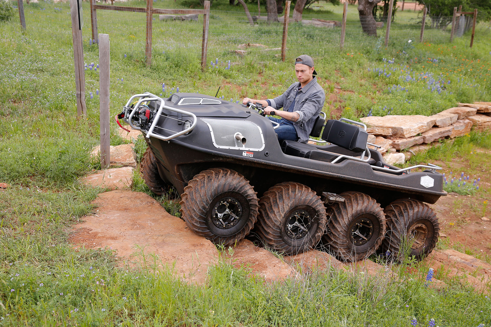 2016 Argo 8x8 Amphibious Atv Review