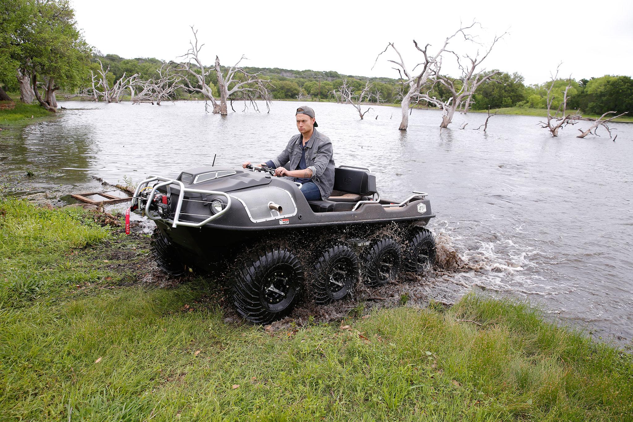 Amphibious Vehicle For Sale >> 2016 Argo 8x8 Amphibious ATV Review