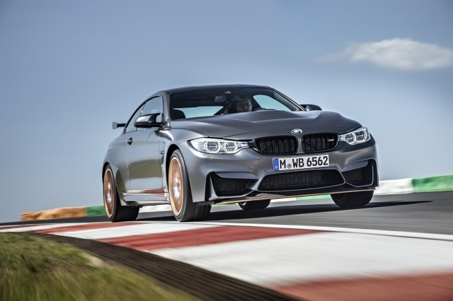 2016 BMW M4 GTS front three quarter in motion 03