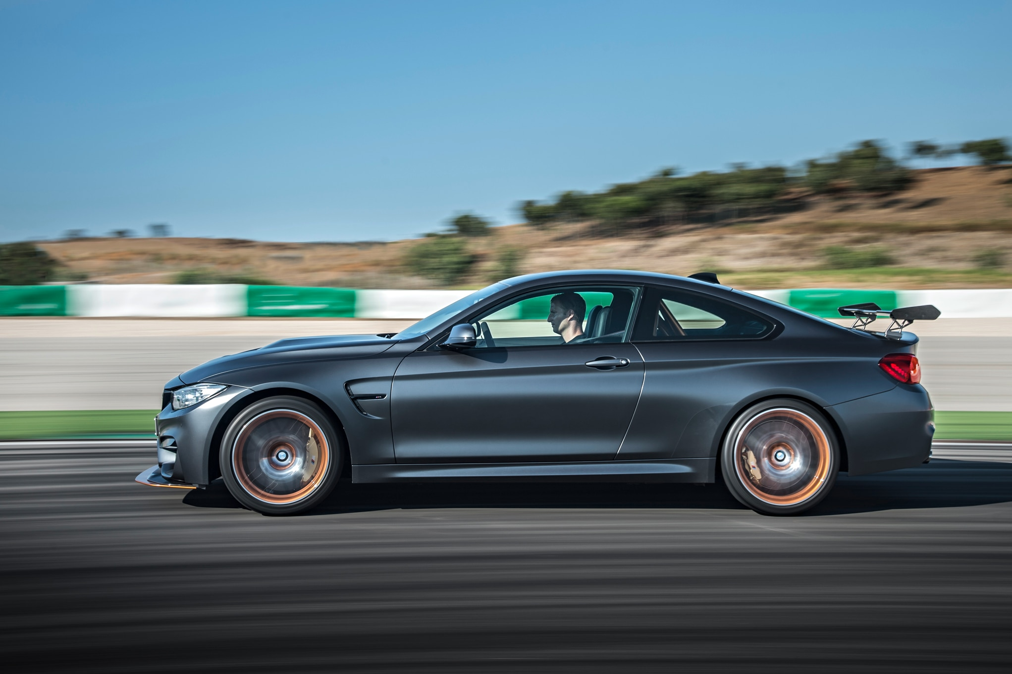 2016 BMW M4 GTS Side In Motion