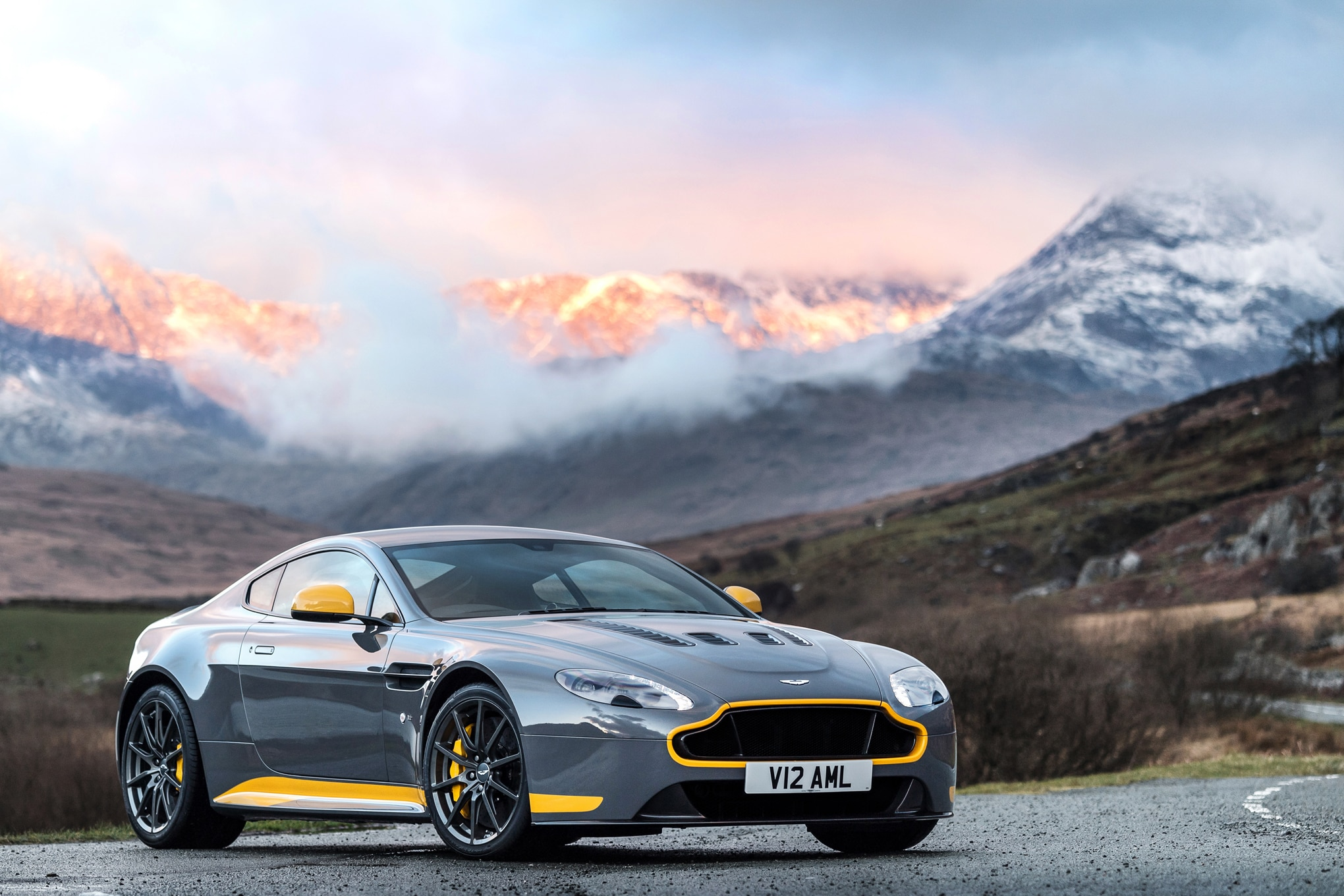 Watch and Listen to the Aston Martin V12 Vantage S ...