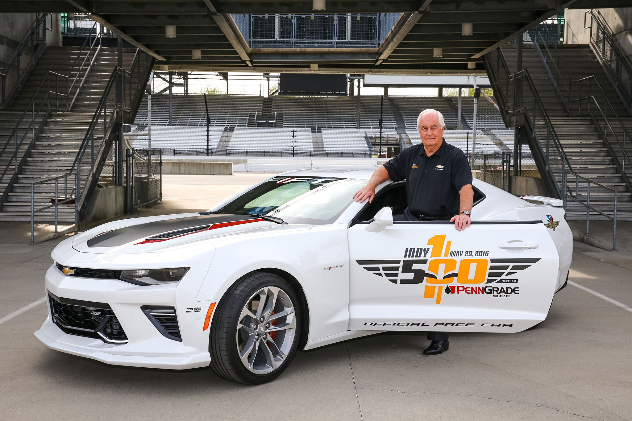 2017 Chevrolet Camaro Ss 50th Anniversary To Pace Indianapolis 500