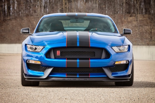 2017 Ford Shelby GT350R Lightning Blue front