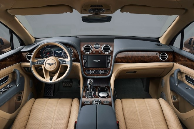 Bentley Bentayga cabin
