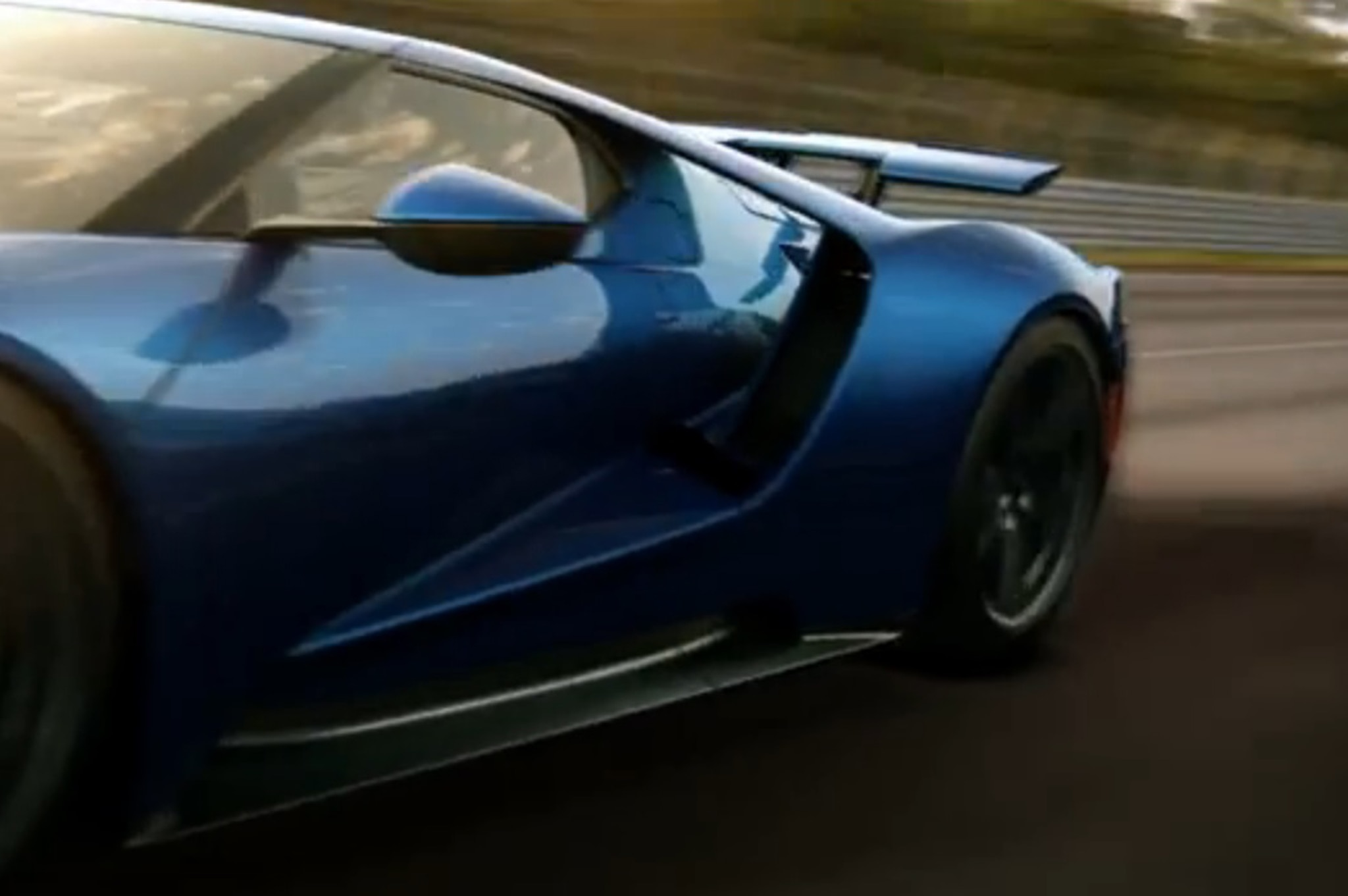 Ford gt active rear spoiler 2