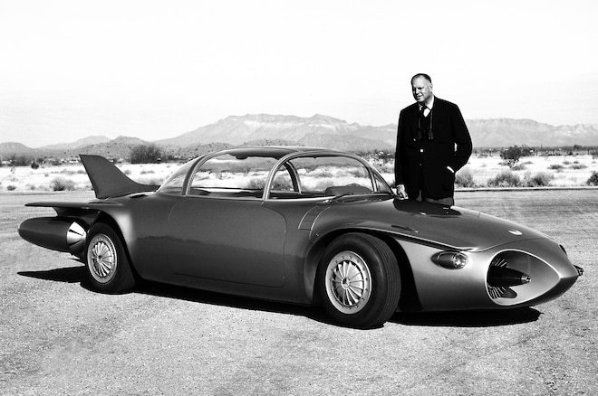 Harley Early With Firebird II Concept