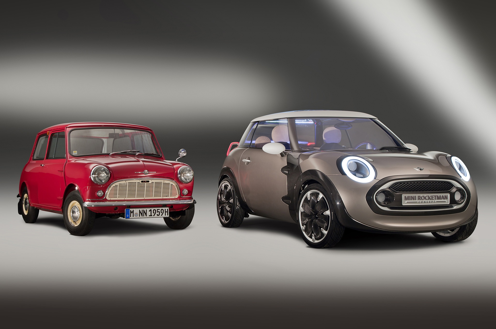 Mini Rocketman Concept With Original