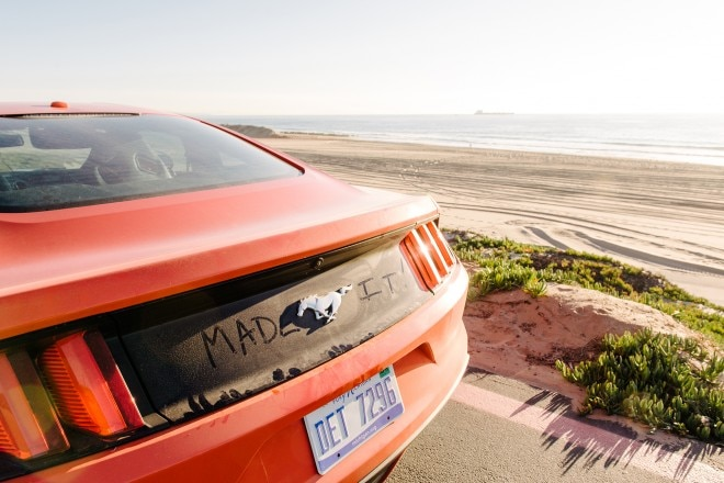 2015 Ford Mustang EcoBoost Premium rear end 07