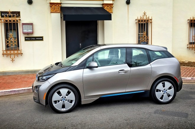 2016 BMW i3 REx front side