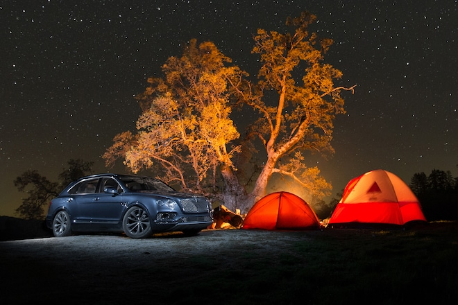 Hell Above the Heavens: Bentley Bentayga Goes Glamping in
