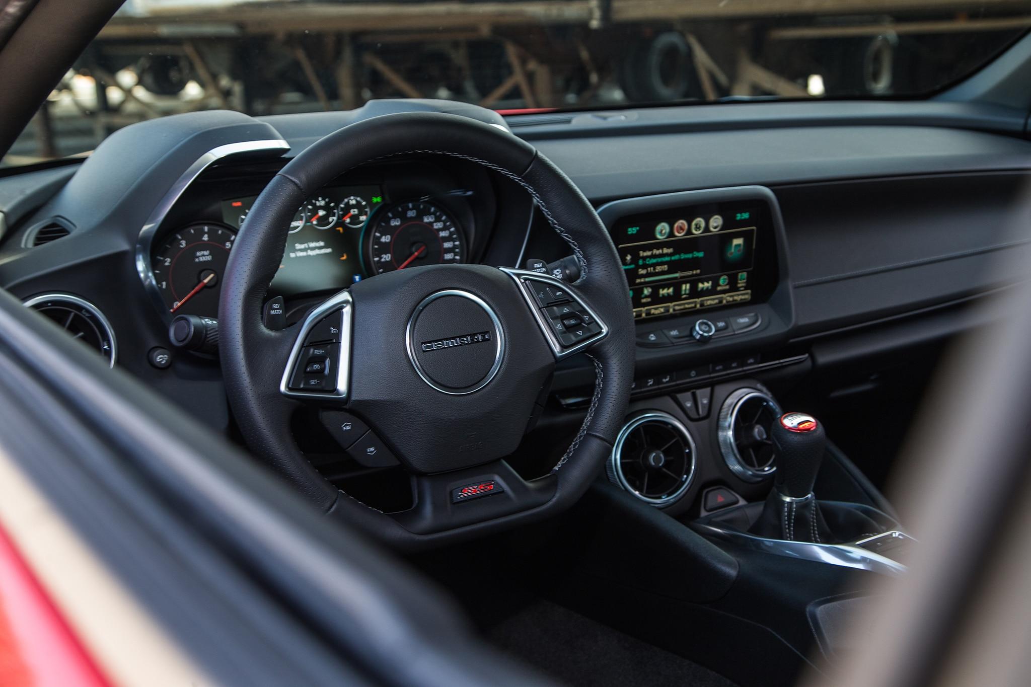 2016 Chevrolet Camaro 1SS Coupe Review: Killer Co-Pilot