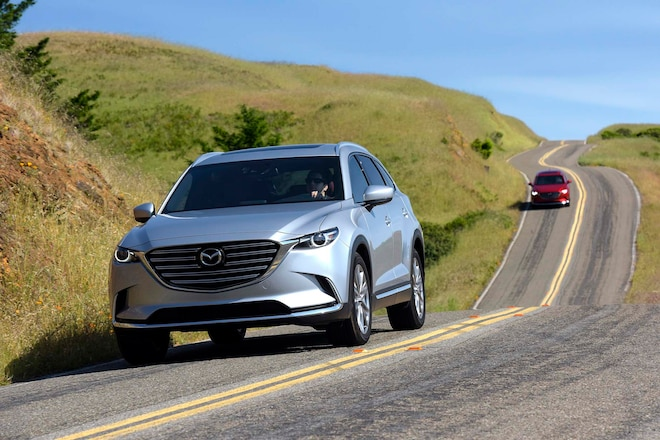 2016 Mazda CX 9 Front Three Quarter Static On Road