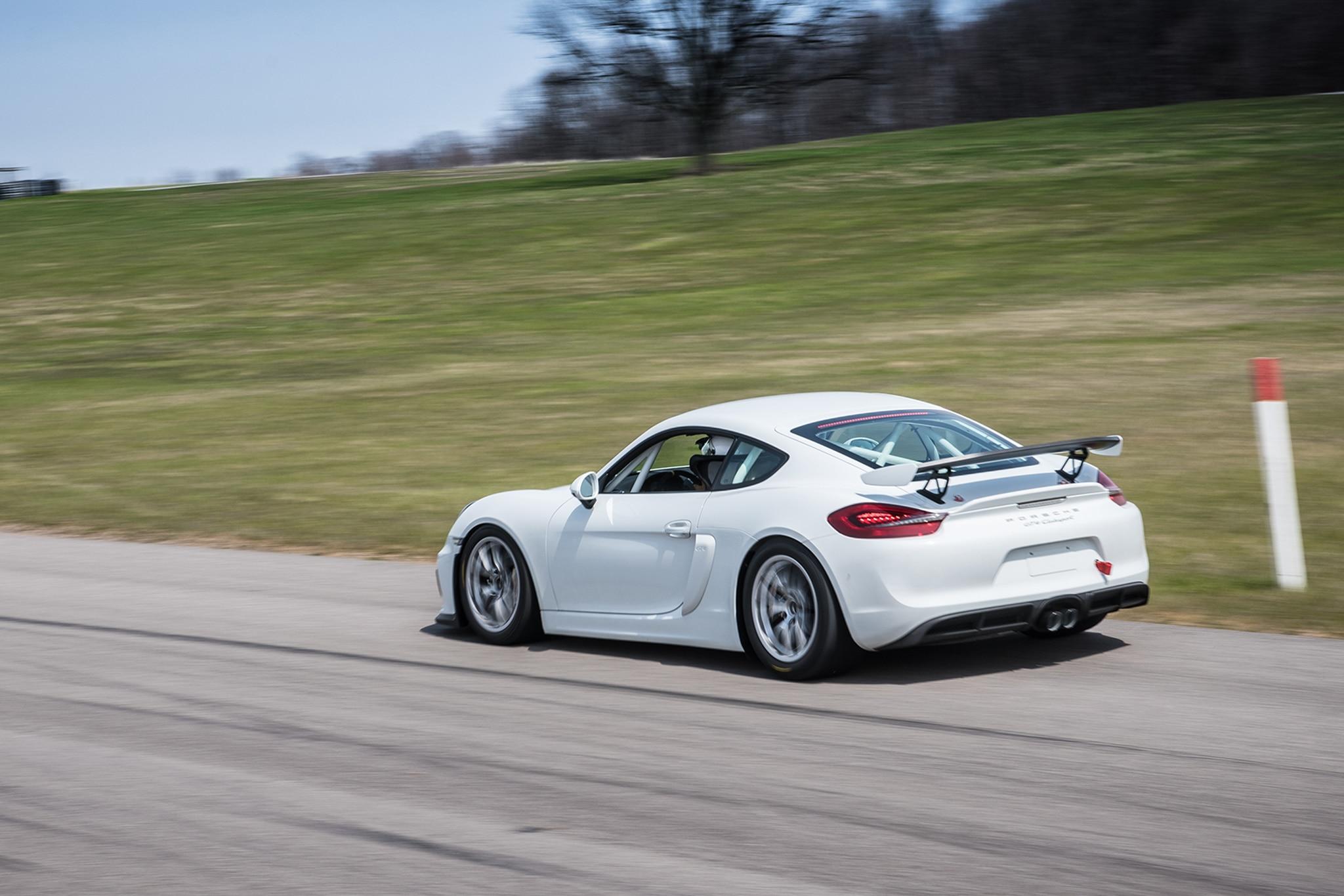We Drive the Porsche Cayman GT4 Clubsport