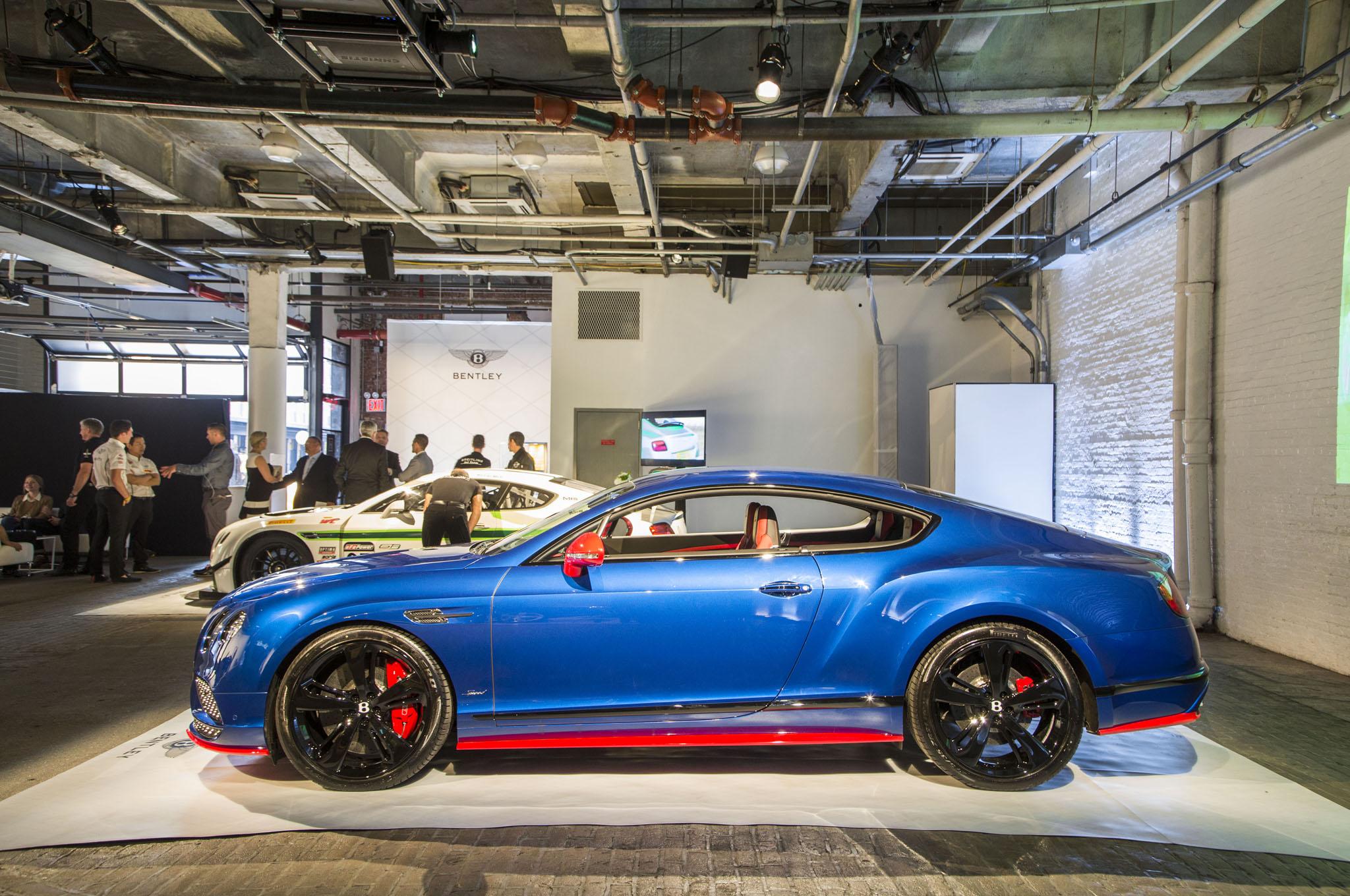 2017 Bentley Continental Gt Sd Side Look