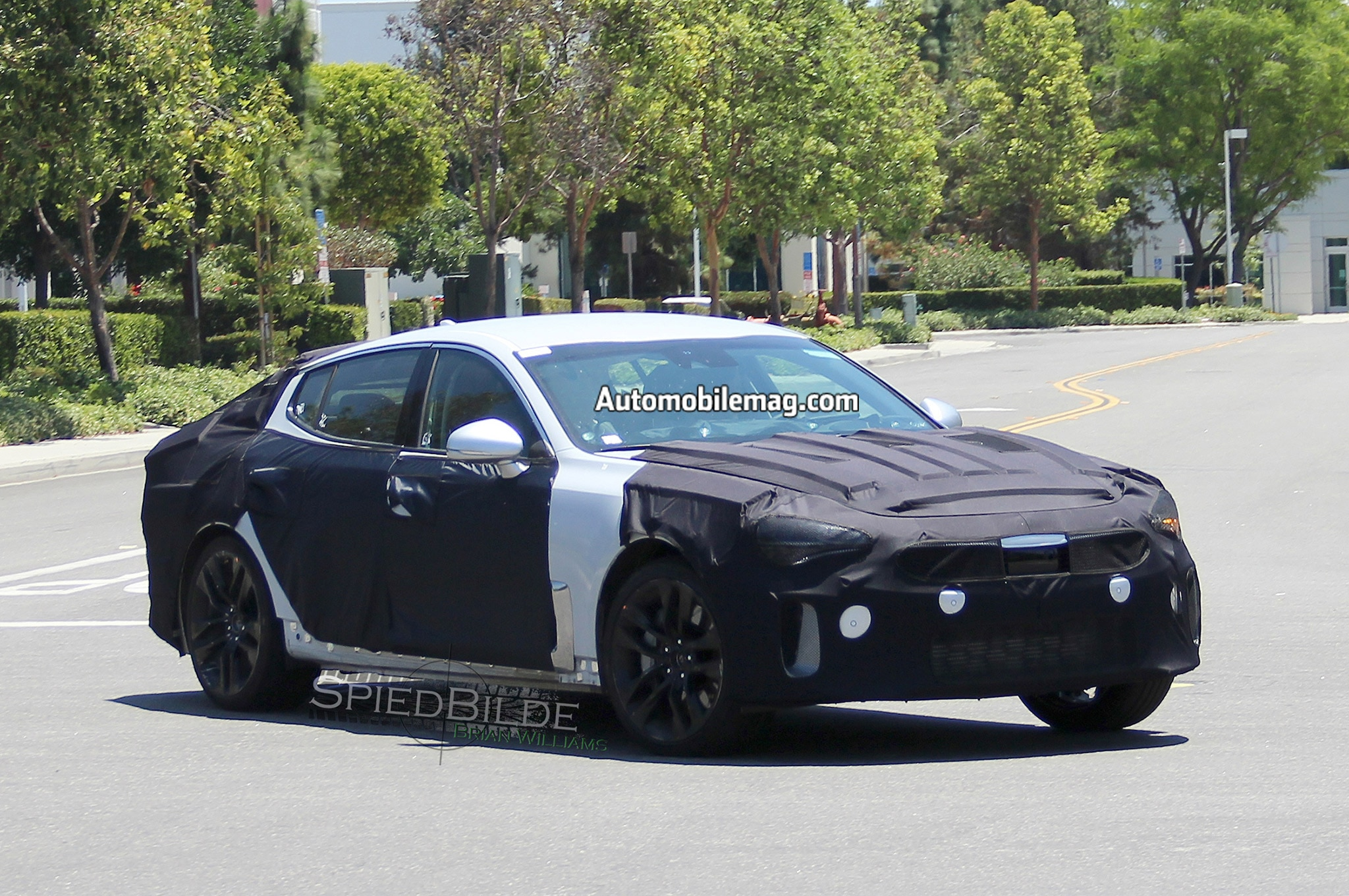 2017 Kia GT Front Three Quarters 5