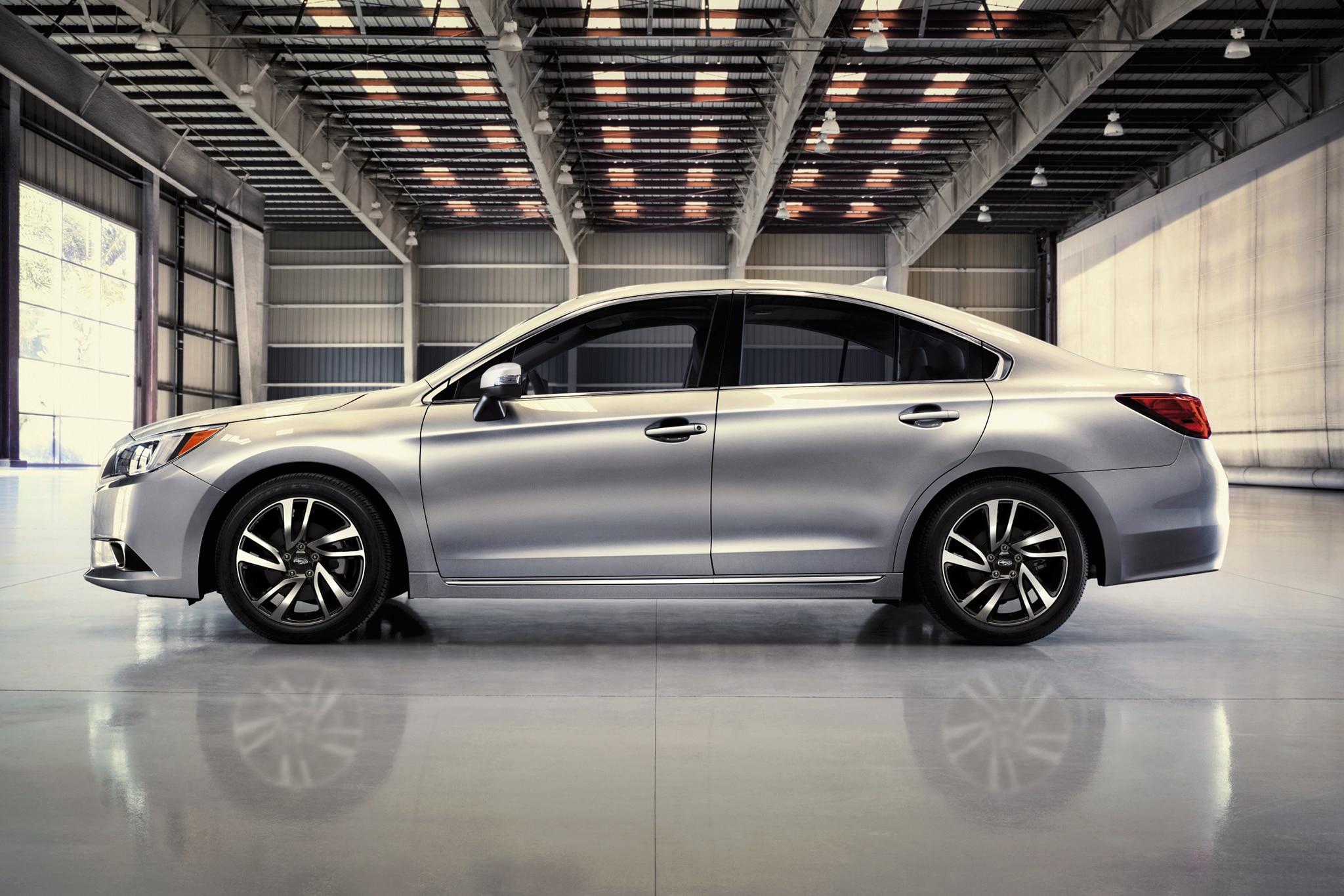 2017 Subaru Legacy Sport Side Profile