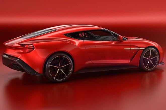 Aston Martin Vanquish Zagato Concept side 2